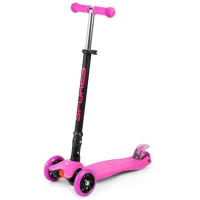 Faltbarer Dreirad Spokey ZANGE pink, Spokey