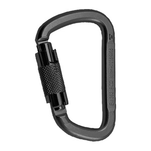 Stahl Karabiner Rock Empire D KL-2T Black ZRC039.000+0000W, Rock Empire