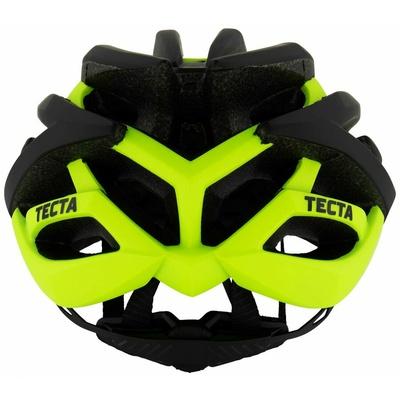 Ultraleichter Rad- Helm Rogelli TECTA, schwarz-reflektierende yellow 009.812, Rogelli