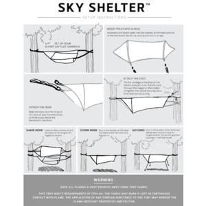 Stanový Schutzzelt Klymit Sky Shelter grün, Klymit