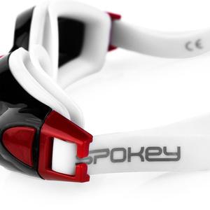 Schwimm- Brille Spokey ROGER schwarz und rot, Spokey