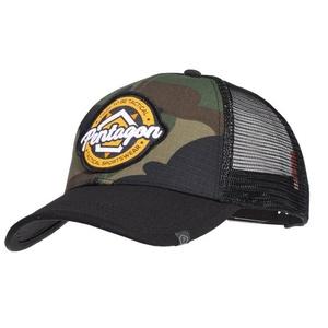 Cap PENTAGON® Era Trucker Tactical Sportbekleidung US Woodland, Pentagon