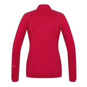 Damen Sweatshirt Husky Tarp Zip L deutlich purpurrot, Husky