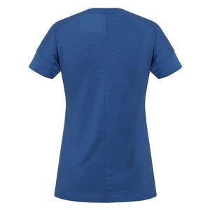 Damen T-Shirt Husky Tingl L d.. blue, Husky