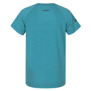 Kinder T-Shirt Husky Zingl Kids tl. türkis, Husky