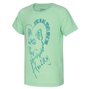 Kinder T-Shirt Husky Zingl Kids hell. minze, Husky