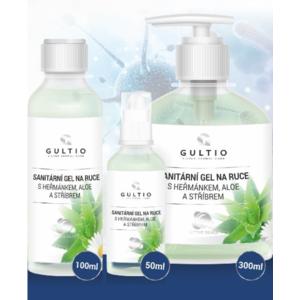 Sanitär Haargel  Hände Gultio mit Aloe, kamille a mit silber 100 ml, Gultio