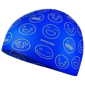 junior schwimmen Mützen Spokey EMOJI blue, Spokey