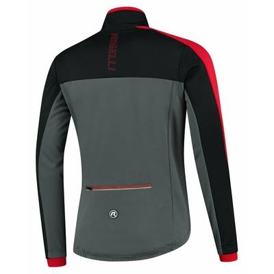 Männer Winterjacke Rogelli Freeze grau-schwarz-rot ROG351022, Rogelli