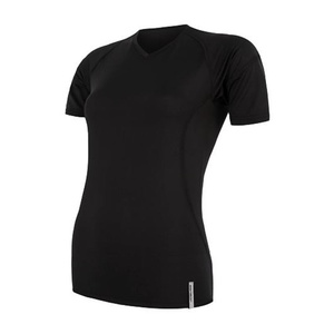 Damen T-Shirt Sensor Coolmax TECH Kurzarm black 20100021, Sensor