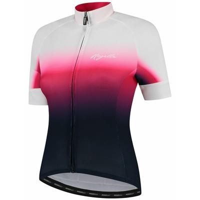 Damen premium Trikot Rogelli DREAM mit kurz Ärmeln, blau-pink-weiß 010.091, Rogelli