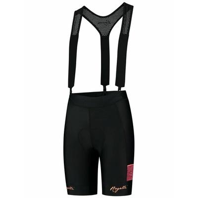 Damen Radsport Shorts Rogelli CHARME 2.0 mit gel futter, blackkoralle 010.291
