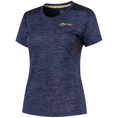 Damen funktionell T-Shirt Rogelli INDIGO mit kurz Ärmeln, dark violet 840.268