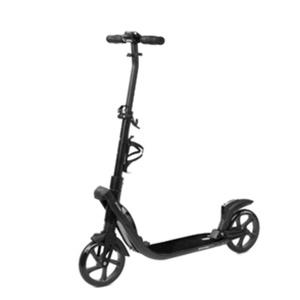 Spokey TARANIS PLUS Scooter mit Handbremse, laufrollen 200 mm, Schwarz, Spokey