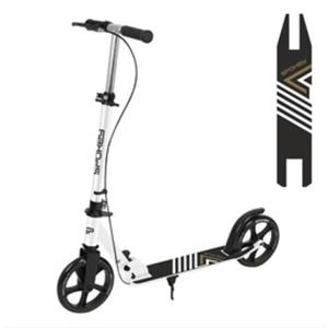 Scooter mit Handbremse Spokey AYAS PLUS laufrollen 200 mm, weiß, Spokey