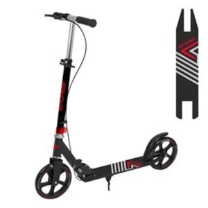 Scooter mit Handbremse Spokey AYAS PLUS laufrollen 200 mm, Schwarz, Spokey