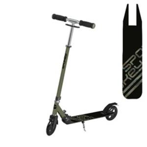 Scooter Spokey VACAY-Rollen 145 mm, schwarz und grün, Spokey