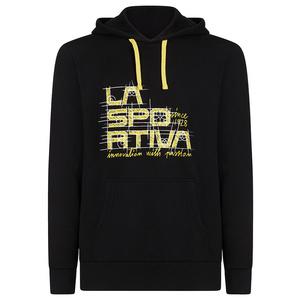 Herren Sweatshirt La Sportiva Project Hoody schwarz/gelb, La Sportiva