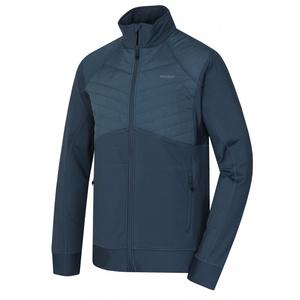 Herren Sweatshirt Husky Luftig M d.. grau/blau