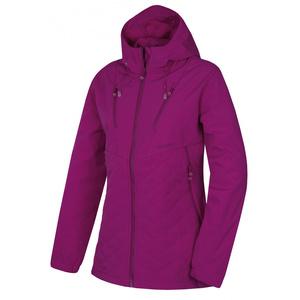 Damen softshell Jacke Husky Výprodejx L d.. neon- purpurrot