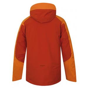 Herren Ski Jacke Husky Gambola M orange-braun, Husky