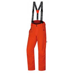 Herren Ski Hose Husky Mitaly M neon Orange, Husky