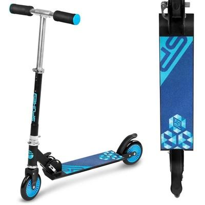 Scooter Spokey DUKE rollen 125 mm, schwarz und blau, Spokey