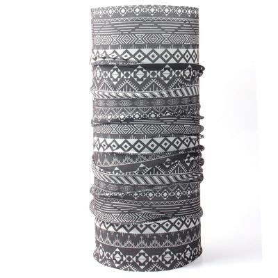 Multifunktions- Schal Husky Printemp grey dreieck streifen, Husky