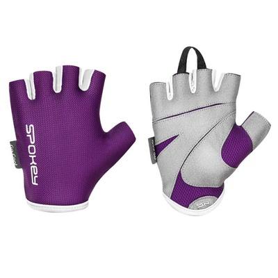Spokey LADY PASSEN Frauen fitness handschuhe, lila, vel-L, Spokey