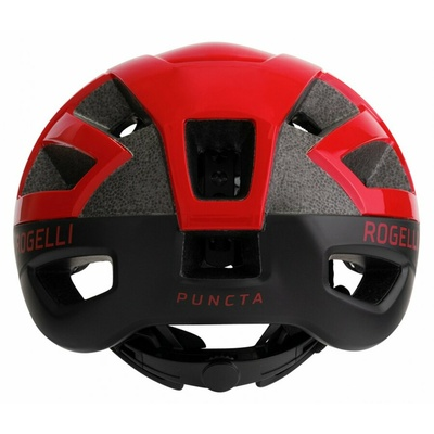 Helm Rogelli PUNCTA, Schwarz Rot ROG351057, Rogelli