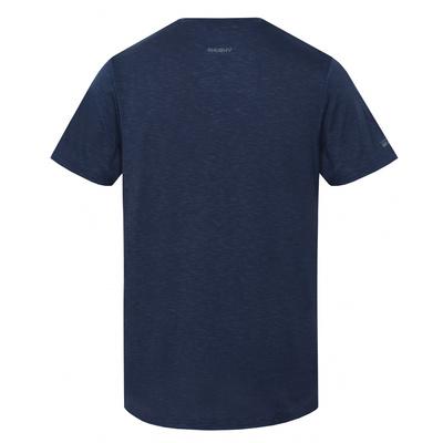 Herren T-Shirt Husky Tingl M d.. blue, Husky