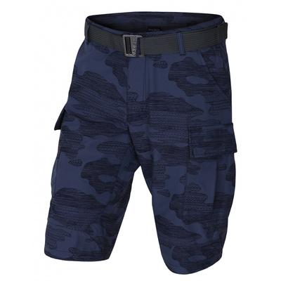 Herren Shorts Kalfer M d.. blue, Husky