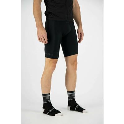 Design funktionell Socken Rogelli STRIPE, schwarz und weiß 007.203, Rogelli