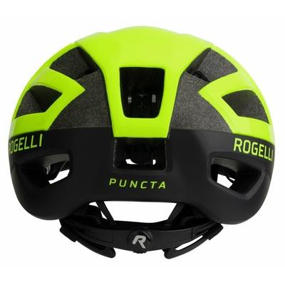 Helm Rogelli PUNCTA, schwarz-reflektierend gelb ROG351056, Rogelli