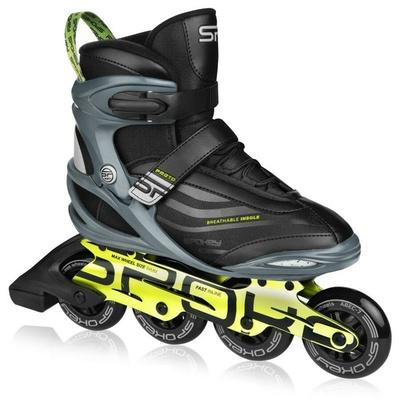 Rollerskates Spokey PRETO schwarz und grün, Spokey