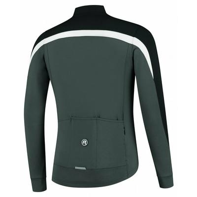 Männer Winterjacke Rogelli Freeze schwarz-grau-reflektierend Gelb ROG351020, Rogelli