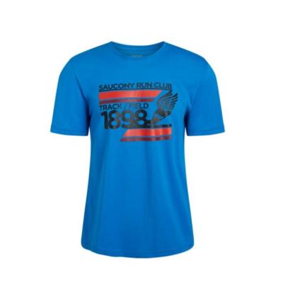 Herren T-Shirt Saucony Blau