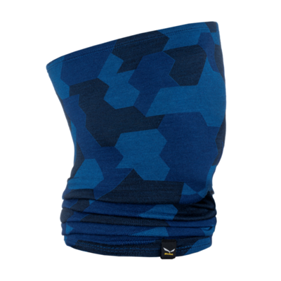 Krawatte Salewa Cristallo Halsrohr Marine tarnen 28170-3938, Salewa
