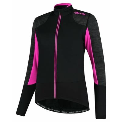 Damen Winterjacke Rogelli Ruhm schwarz-grau-rosa ROG351078, Rogelli