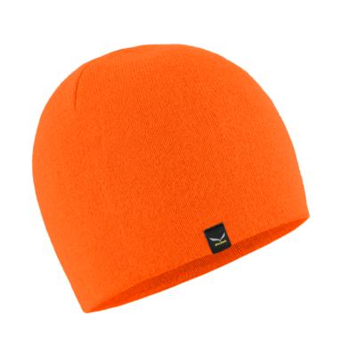 Wintermütze Salewa Sella Ski Mütze fluo orange 28171-4570, Salewa