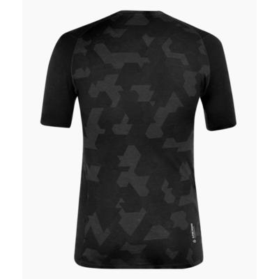 Herren-Thermo t-shirt Salewa Kristallwarmes Merino reaktionsfreudig verdunkeln 28207-0910, Salewa