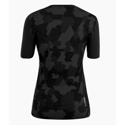 Damen Thermo T-Shirt Salewa Kristallwarmes Merino reaktionsfreudig verdunkeln 28208-0910, Salewa