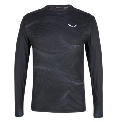 Herren-Thermo t-shirt Salewa Kristallwarmes Merino reaktionsfreudig verdunkeln 28207-0910