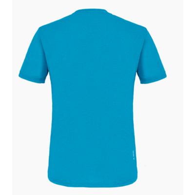 Herren T-Shirt Salewa Gedruckt Box Trocken blau Donau melange 28259-8989