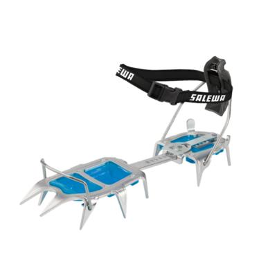Steigeisen Salewa Alpinist Alu Kombi stahl blau 813-0999