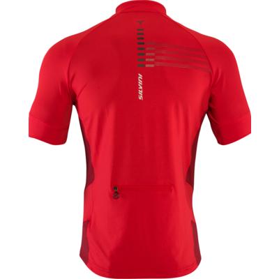 Radsport für Herren jersey Silvini Cross MD1204 rot, Silvini