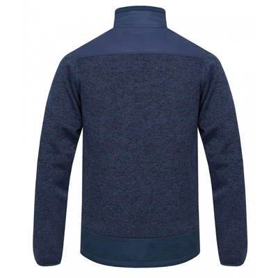 Männer Postleitzahl vlies Sweatshirt Husky Alan M dunkel blau / dunkel. blau, Husky