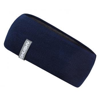 Herren Merino Merband Stirnband 1 blau, Husky