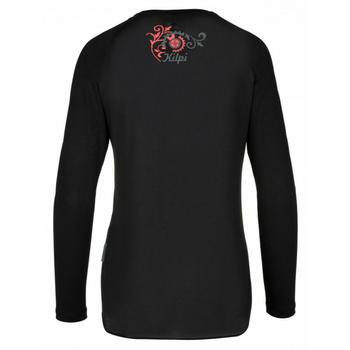 Frauen funktional t-shirt Kilpi EXPLOSION-W Schwarz, Kilpi