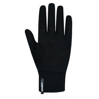 Unisex merino handschuhe Husky Merglov Schwarz